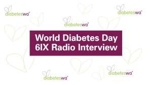 Diabetes WA interviewed on 6IX Radio World Diabetes Day 14 November 2018