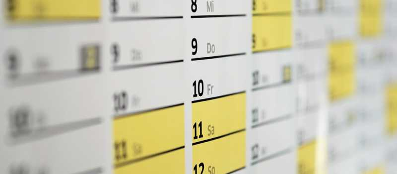 Diabetes workshop calendar and guide