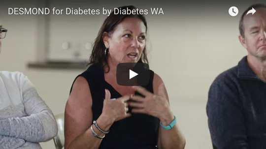 Participants of type 2 diabetes workshop 'DESMOND' share their experiences